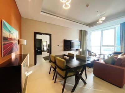 فلیٹ 1 غرفة نوم للايجار في منطقة الكورنيش، أبوظبي - شقة في منطقة الكورنيش 1 غرف 94999 درهم - 5065181