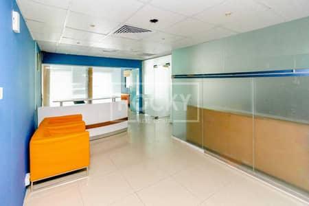 مکتب  للايجار في برشا هايتس (تيكوم)، دبي - Close to Metro|2Parking|5Glass Partition