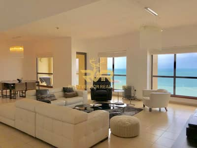 4 Bedroom Apartment for Sale in Jumeirah Beach Residence (JBR), Dubai - Panoramic Sea Views | 4Beds | Vacant On Transfer