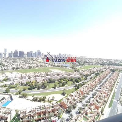 Studio for Rent in Dubai Sports City, Dubai - BREATH TAKING GOLF VIEW | FURNISHED STUDIO | PAY ONLY 2600/- P. M