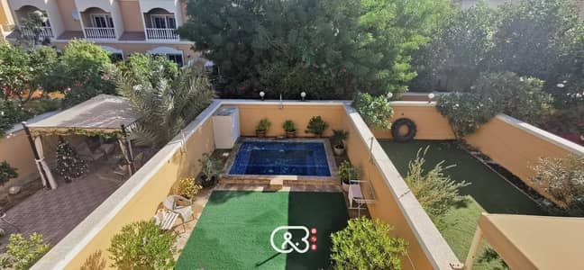 2 Bedroom Villa for Sale in Jumeirah Village Triangle (JVT), Dubai - Vacant Redesigned with  pool and garden
