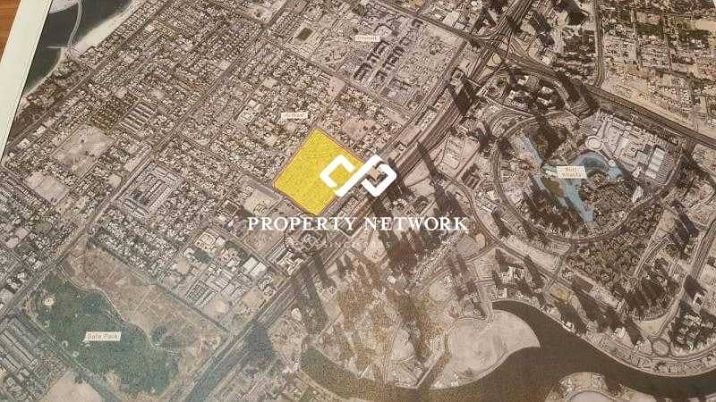 2 Freehold Villa Plot for any nationality in Al Wasl