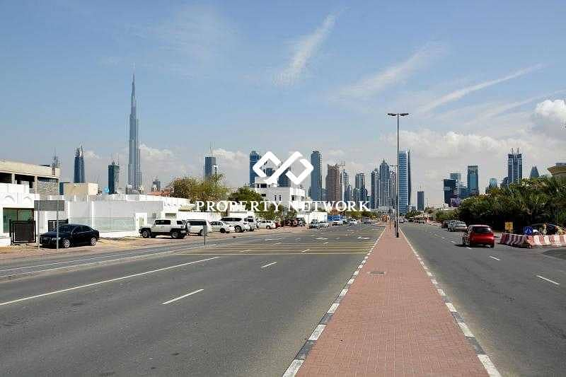 10 Freehold Villa Plot for any nationality in Al Wasl