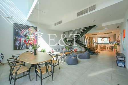 4 Bedroom Townhouse for Rent in Jumeirah Village Circle (JVC), Dubai - Fully serviced | 4 Beds High end villa | Upgraded