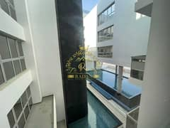 Brand New Building  In Meydan   Stunning And Bright   Semi Furnished   Kitchen Appliances