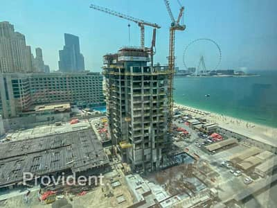 2 Bedroom Flat for Sale in Jumeirah Beach Residence (JBR), Dubai - Partial Sea View   Private Beach Access