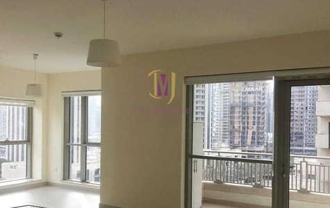 شقة 1 غرفة نوم للايجار في وسط مدينة دبي، دبي - Full Burj Khalifa View | Unfurnished | Mid Floor