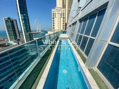 طابق سكني  للبيع في دبي مارينا، دبي - Penthouse | Full Floor | Swimming Pool | Upgraded