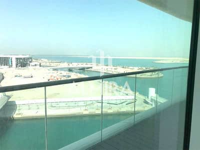 2 Bedroom Apartment for Rent in Al Raha Beach, Abu Dhabi - Vacant! Spacious layout w/ Sea view for 2chqs