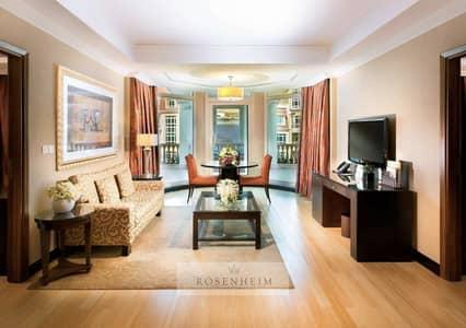 3 Bedroom Hotel Apartment for Rent in Downtown Dubai, Dubai - Classic and Classy Gem, Downtown Dubai | Burj View