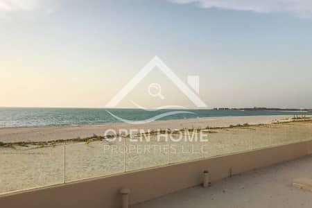 7 Bedroom Villa for Sale in Saadiyat Island, Abu Dhabi - Direct to the beach I Type 3A I Single Middle Row I Full sea View