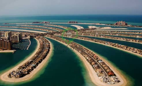 Mixed Use Land for Sale in Palm Jumeirah, Dubai - MIX used  G+7 Plot  Unique Oppertunity