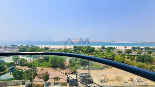 فلیٹ 2 غرفة نوم للايجار في منطقة الكورنيش، أبوظبي - SEA VIEW ! 2BHK Apartment + Maid +Laundry  + Balcony