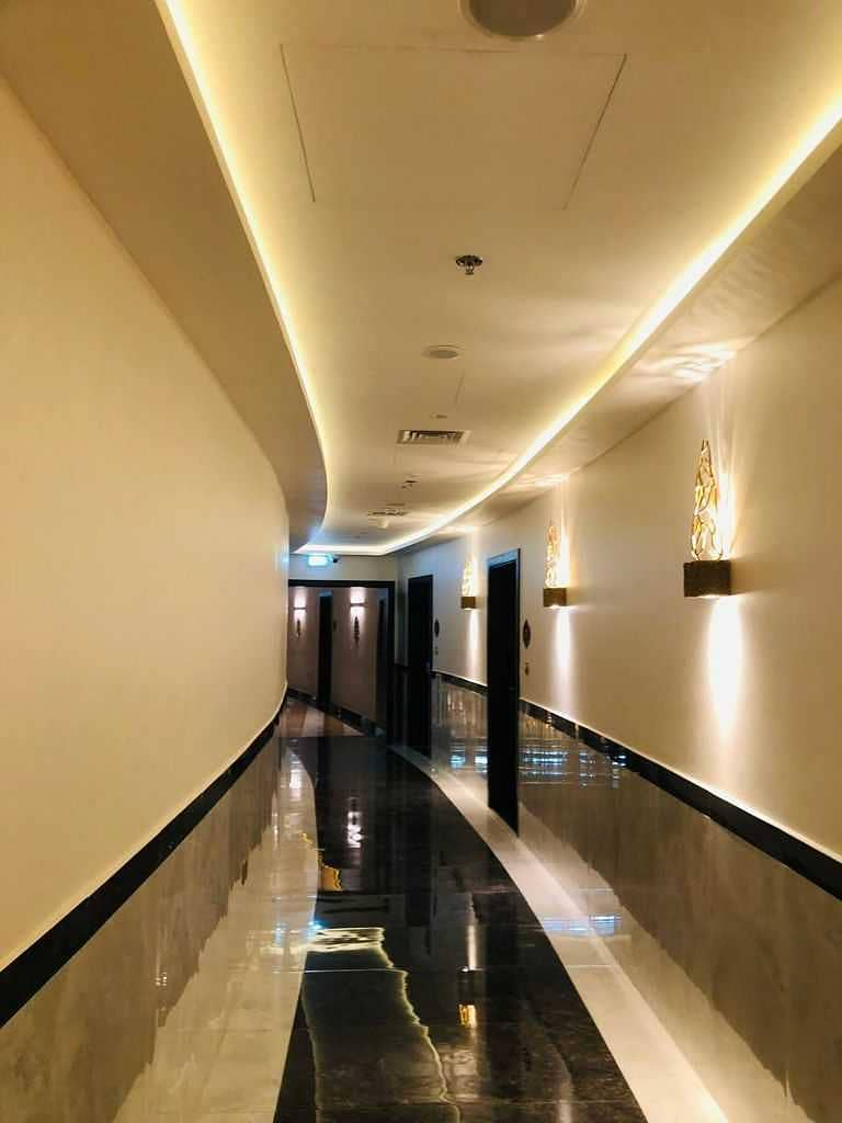 FULLY FURNISHED 1 BHK APT. || BRAND NEW KITCHEN APPLIANCE || @55,000 AED