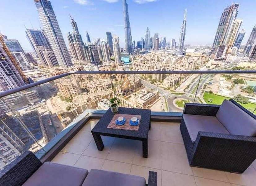 2 Full Burj View  High floor  Hot Listing