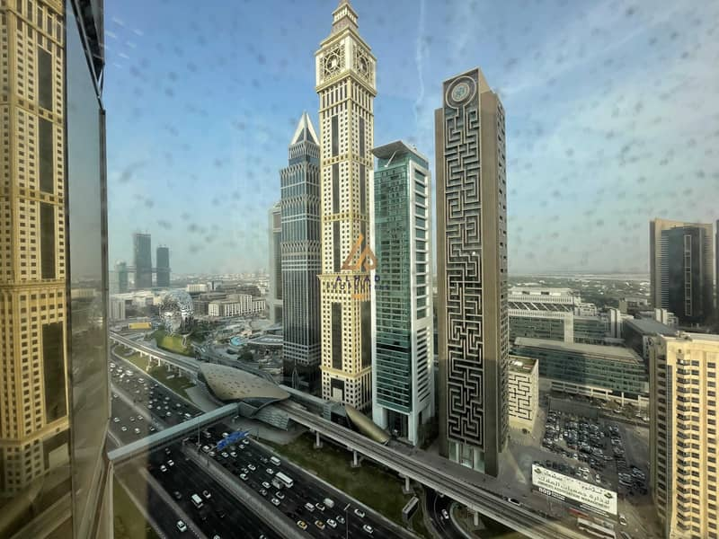 Heart of Dubai   Open Space   SZR View