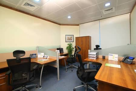 Shared Serviced Office for Rent near metro station AED 20,000/yr