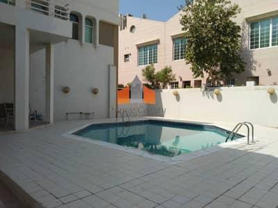 4 Bedroom Villa for Rent in Bur Dubai, Dubai - Independent villa| Pool|Store room|Near ADCB Metro| Prime Location