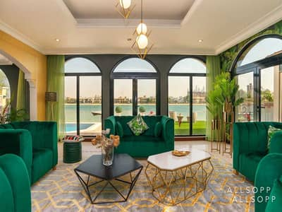فیلا 5 غرف نوم للايجار في نخلة جميرا، دبي - 5 Bed | Furnished | Exclusive | Atrium