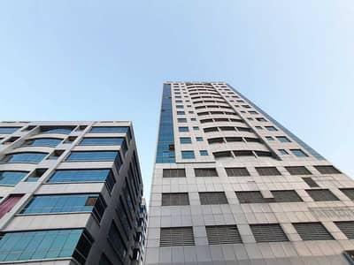 شقة 1 غرفة نوم للايجار في جاردن سيتي، عجمان - شقة في أبراج اللوز جاردن سيتي 1 غرف 14000 درهم - 5404934