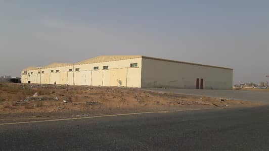 Spacious Warehouses Available Warehouse in Umm Al Quwain , For Rent