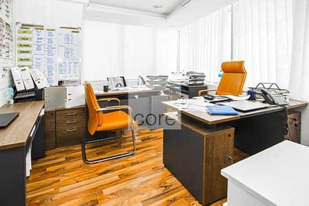 مکتب  للايجار في أبراج بحيرات الجميرا، دبي - Furnished Office | Low Floor | Close to Metro