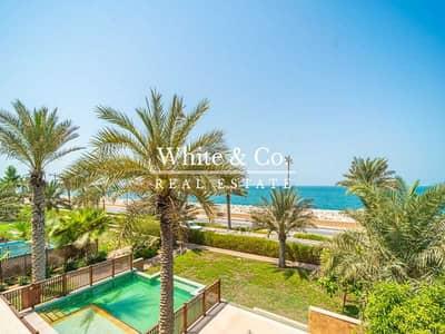 فیلا 6 غرف نوم للايجار في نخلة جميرا، دبي - RESORT LIVING   BASEMENT   PRIVATE BEACH