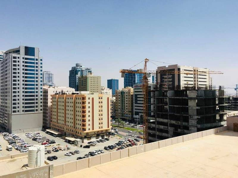 1 bedroom city view with parking for sale in Ajman one tower