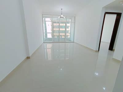 1 Bedroom Flat for Rent in Al Taawun, Sharjah - Lavish 1bhk apartment with balcony, wardrobes, gym pool kids playing area free only 25k