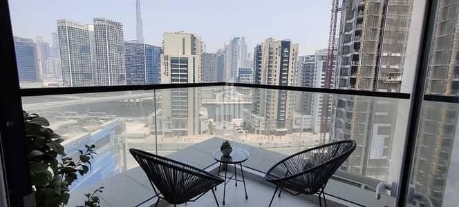 فلیٹ 1 غرفة نوم للبيع في الخليج التجاري، دبي - شقة في برج فيزول الخليج التجاري 1 غرف 905000 درهم - 5313473