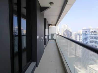 2 Bedroom Flat for Rent in Dubai Marina, Dubai - Chiller Free | 2BR | High Floor | Escan Marina Tower | Big Balcony