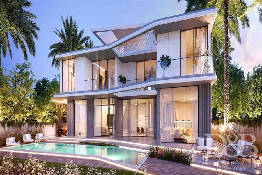 2 Luxury 6 Beds + Maids | Lamborghini Villa | Emaar