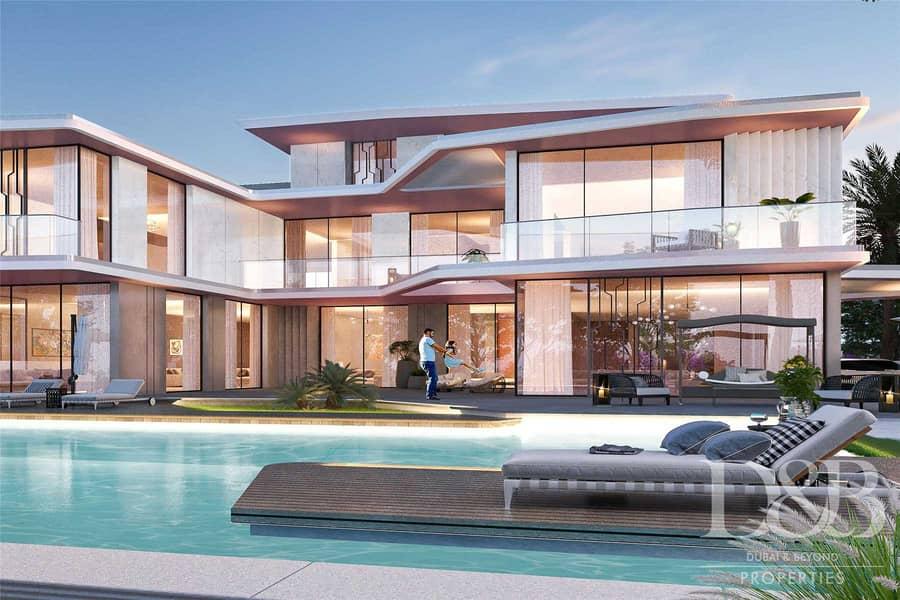 Luxury 6 Beds + Maids | Lamborghini Villa | Emaar