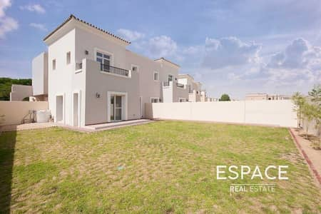 3 Bedroom Villa for Sale in Arabian Ranches, Dubai - Walking Distance to Jess | Large End Unit