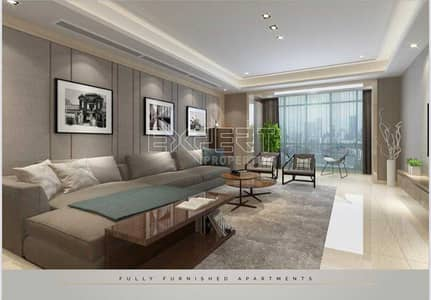 2 Bedroom Apartment for Sale in Business Bay, Dubai - Luxury Furnished    7 year Payment Plan   Burj Khalifa View