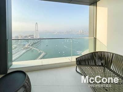 شقة 2 غرفة نوم للايجار في جميرا بيتش ريزيدنس، دبي - Fully Furnished | Luxury Living | Waterfront