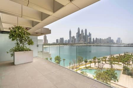 3 Bedroom Apartment for Sale in Palm Jumeirah, Dubai - Brand New I Low Floor I Sea View & Marina Skyline