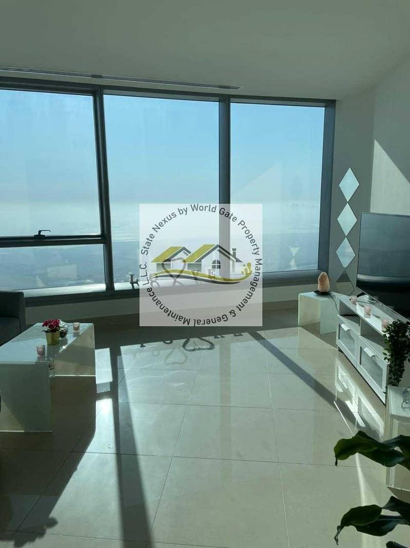 1BR Apt in High Floor| Sea View| Prestigious Location
