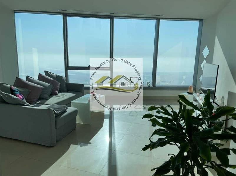 2 1BR Apt in High Floor| Sea View| Prestigious Location