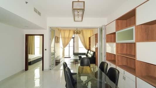 شقة 1 غرفة نوم للايجار في الفرجان، دبي - Furnished 1 Bedroom   Near Metro   Convertible