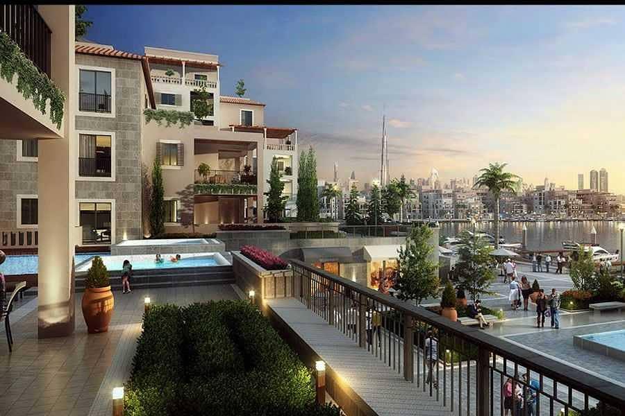 Luxury lifestile houses jumeirah island Sur La mer
