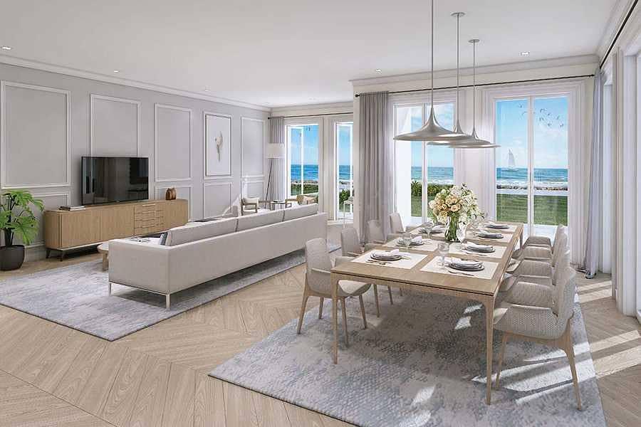 9 Luxury lifestile houses jumeirah island Sur La mer