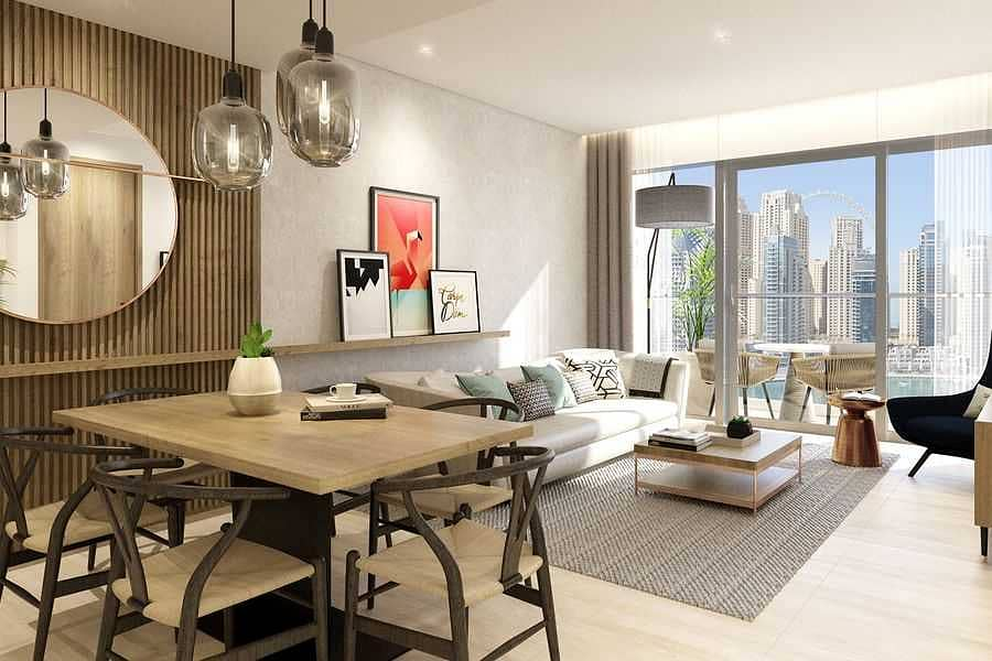 Luxurious apartment  with hotel amenities