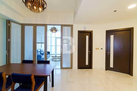 فلیٹ 1 غرفة نوم للايجار في الخليج التجاري، دبي - Brand New | Lake Side | 1 Bed converted to 2