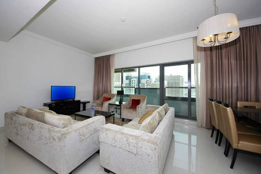 Vacant | Luxuriously Furnished | Spacious Bright