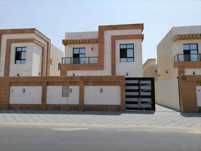 3 Bedroom Villa for Sale in Al Zahya, Ajman - Villa for sale, central air conditioning, modern design, personal finishing, with high quality building materials.