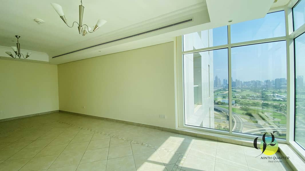 Golf Course views with Lake & Open views to ONE JLT