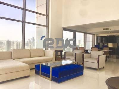 بنتهاوس 1 غرفة نوم للايجار في برشا هايتس (تيكوم)، دبي - Beautiful Loft with High Ceilings and Panoramic Views