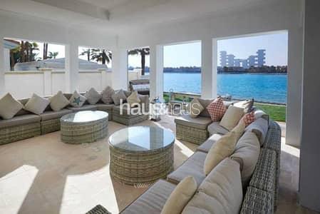 فیلا 6 غرف نوم للايجار في نخلة جميرا، دبي - Upgraded | Furnished villa | High num | Bills inc