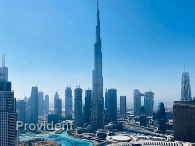 2 Bedroom Flat for Sale in Downtown Dubai, Dubai - Burj Khalifa & Fountain View l Higher floor